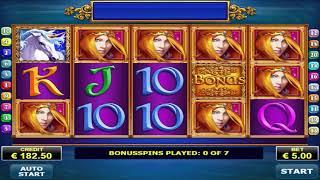 BIG WIN!! 7 Free Spins On Royal Unicorn Slot Machine!