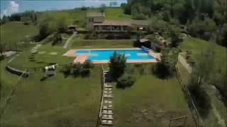Camping Perticara vanuit drone 2.0