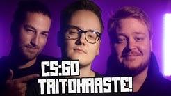 Toimistoukkojen Telia Esports Series-taitohaaste! (CS:GO)