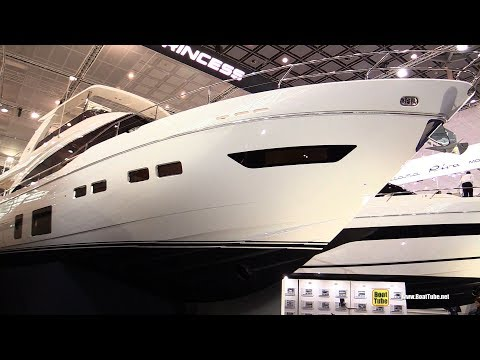 2018 Princess 75 Luxury Motor Yacht - Walkaround - 2018 Boot Dusseldorf Boat Show