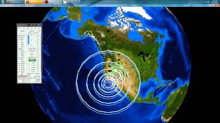 12/14/2012 -- Southern California Earthquakes -- Back to Back 6.4M and 6.1M