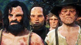 Inbred Swampfreaks VS The Law - Red Dead Redemption 2 NPC Fight