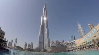 Dubai Dancing Fountain - Andrea Bocelli Con Te Partiro