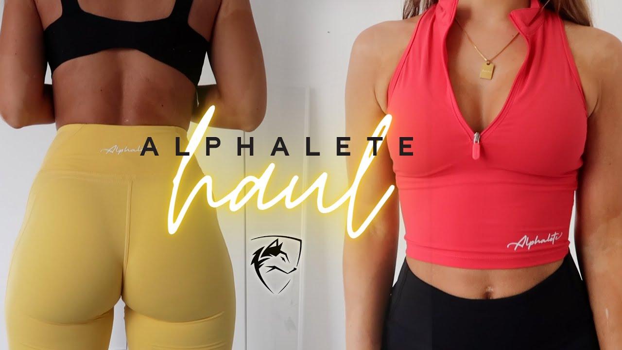 Alphalete Pulse Haul!!! August 2021