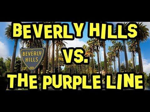 Beverly Hills vs. Metro's Purple Line Subway Extension Ⓜ️  Future Transit USA