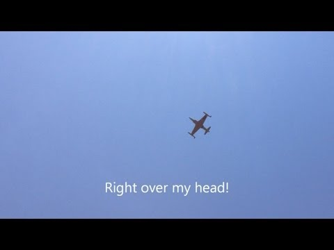 2013 Abbotsford International Airshow - T-33 Jet with Overhead Low Passes