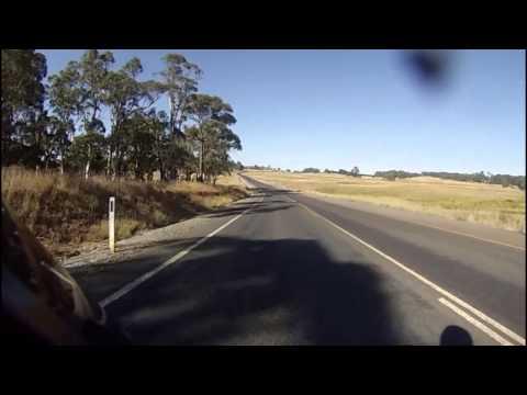 Oberon To Goulburn Via Taralga - NSW Australia - Part 1 - Capt Howdy BMW K1200R