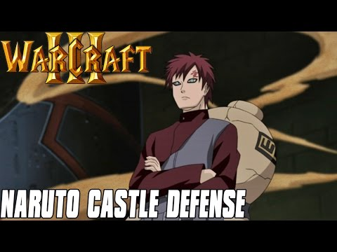 Naruto Castle Defense - Warcraft 3 Mod
