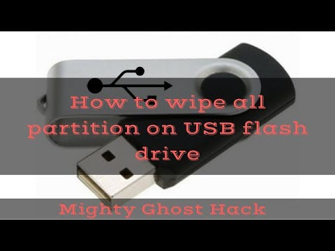 How to Wipe All Partitions on USB Flash Drive on Windows [EASY TUTORIAL]