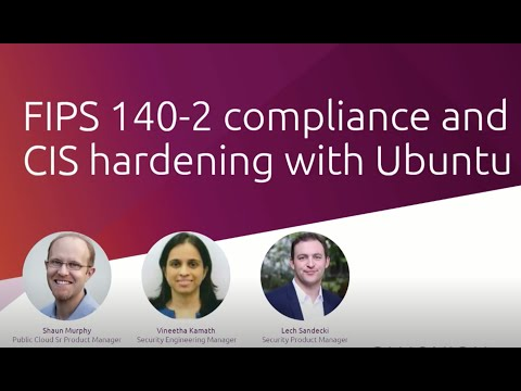 Download FIPS certification and CIS compliance with Ubuntu