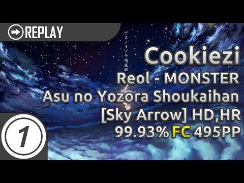 Cookiezi | Yuaru - Asu no Yozora Shoukaihan [Sky Arrow] +HD,HR  | 99.93% 495pp