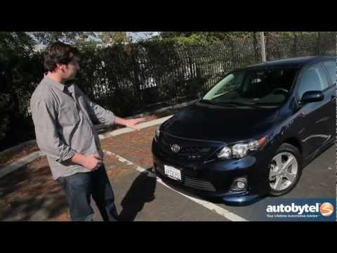 2012 corolla s with some add-on's | FunnyDog.TV