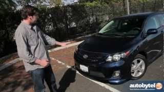 2012 Toyota Corolla Test Drive & Car Review