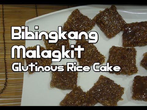 Paano magluto Bibingkang Malagkit Recipe - Filipino Pinoy