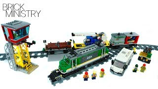 LEGO 60198 CITY ●  Cargo Train [Speed Build Review]