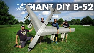 ?? Flying a 14 foot B-52 Bomber Made out of FOAM! ??