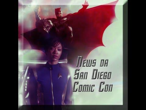 Un po' di news da San Diego Comic Con