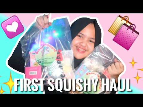 Squishy Ind : FIRST SQUISHY HAUL {kawaiisquishy.ind} #CSQUL1(indonesia) - YouTube