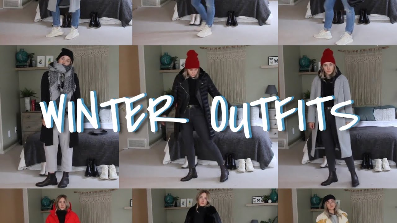 [VIDEO] - Winter Outfit Staples! | How to Style Winter Outfits | Extra Warm for Canadian Winter 2