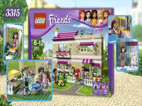 Конструкторы для девочек LEGO Friends Лего Подружки - YouTube