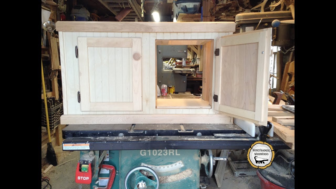 Woodworking : Make And Install Partial Inset Cabinet Doors // How  To