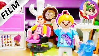 Playmobil Rodzina Wróblewskich   Hania otwiera swój własny SALON URODY!