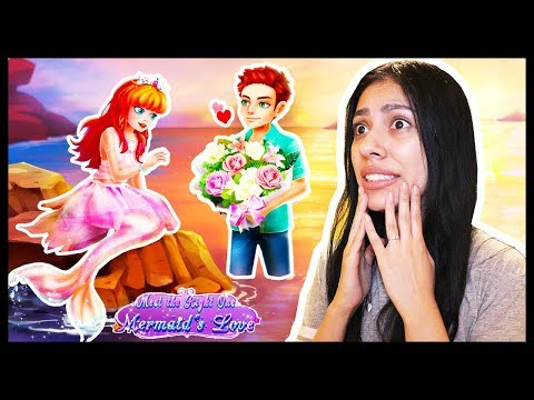 I'LL NEVER SEE MY CRUSH AGAIN!  Mermaid Princess Love Story Dress Up & Salon Game  App Game