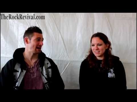 All That Remains Interview with Jeanne Sagan at Carolina Rebellion 2013