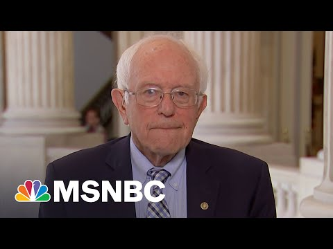 Sanders: 'I'm Tired Of Talking About Mr. Manchin And Miss Sinema'