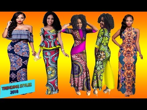 Latest African Dresses 2018:  HOTTEST and TRENDY #AFRICAN #DRESSES For Fashionista to rock 2018