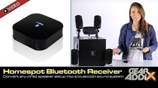 HomeSpot Bluetooth Audio Receiver for Home Speakers & Sound Systems