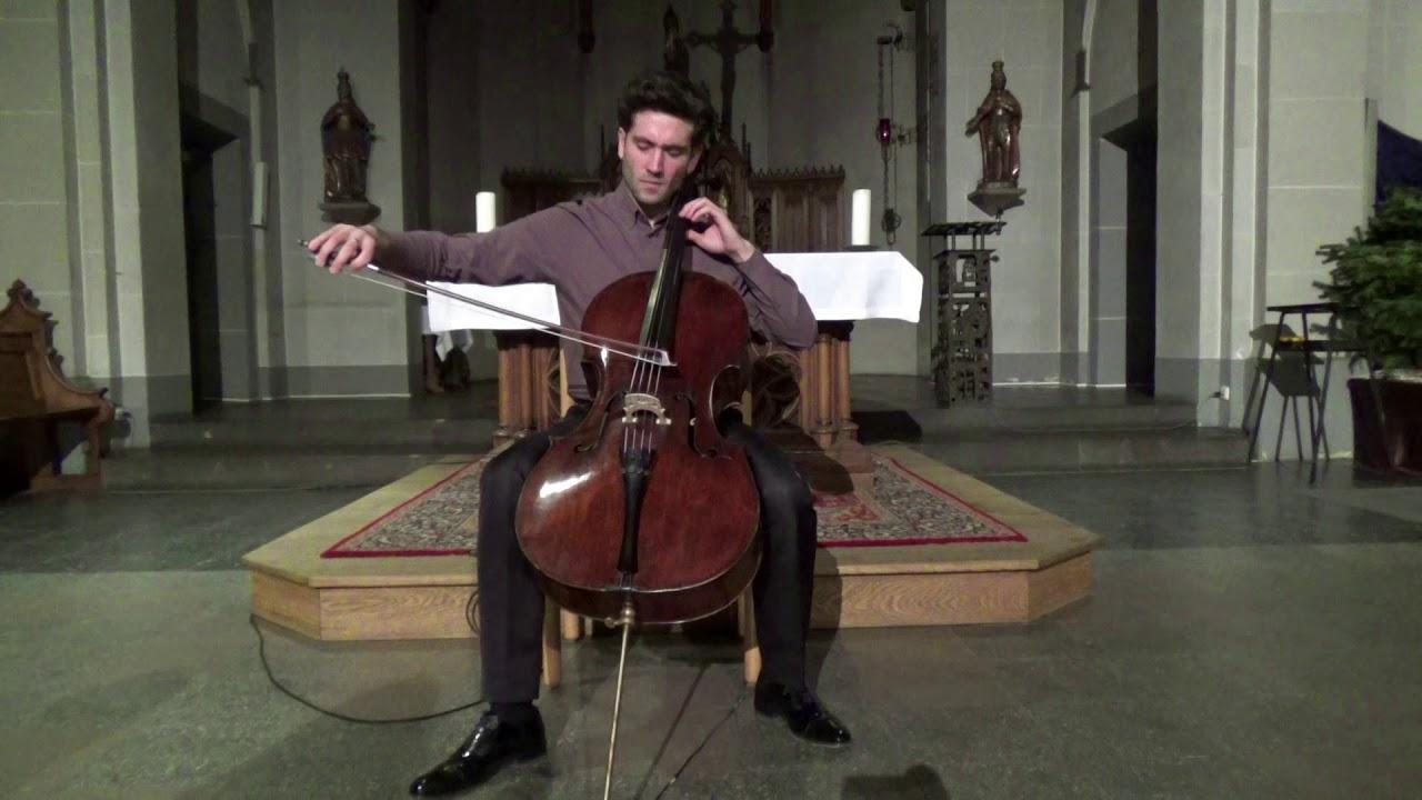 G.Cassadó: Suite for Cello Solo | Roger Morelló (live)