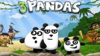 3 Pandas 1 Walkthrough All Levels HD