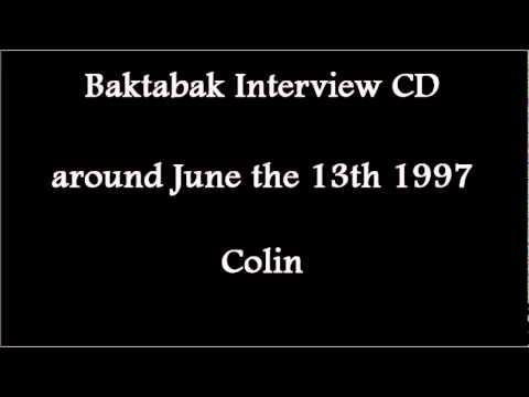 (1997/06/1x) Baktabak CD, Colin