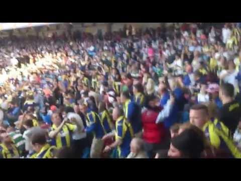 Warrington Wolves Fans Singing - Magic Weekend 2013 HQ