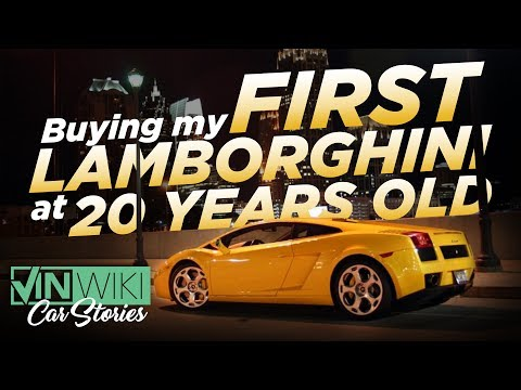 Buying My First Lamborghini at 20 Years Old