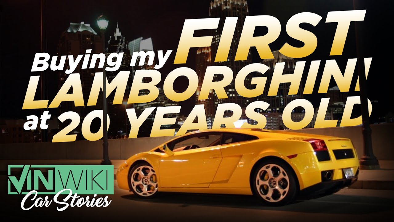 Buying My First Lamborghini at 20 Years Old - YouTube