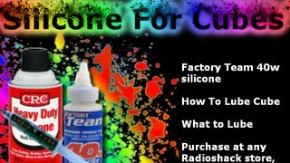 Great Lube For Cubes - Factory Team Silicone Review
