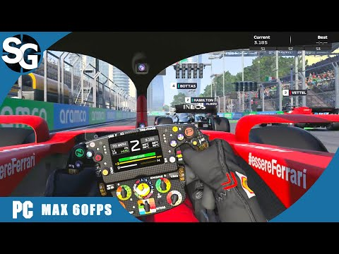 F1 2020 Game | Charles LECLERC | Azerbaijan Grand Prix |