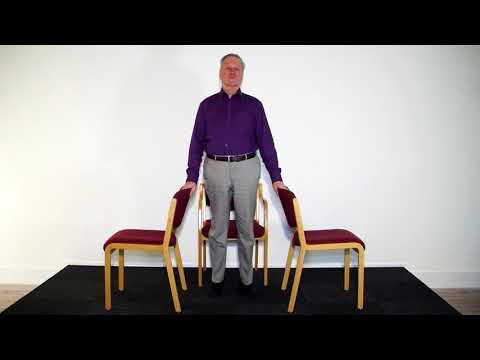 Stoel Voor Ouderen : Oefeningen voor ouderen stoel ; oefening 10 youtube