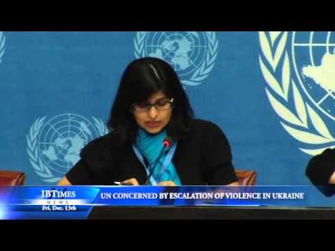 UN Concerned by Escalation of Violence in Ukraine