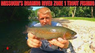 Trout Fishing Roaring River's Zone 1