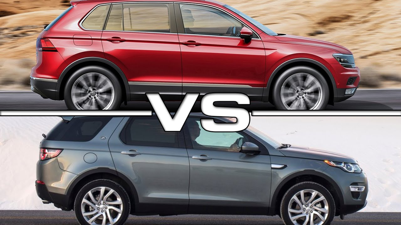 Volkswagen Tiguan Vs Land Rover Discovery Sport Youtube