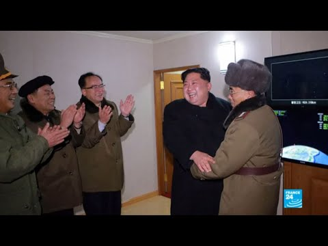 North Korea: Photos show beaming leader Kim Jong-un watching latest missile launch