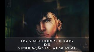 OS 5 MELHORES JOGOS DE SIMULAÇÃO DE VIDA REAL ONLINE PARA PC FRACO