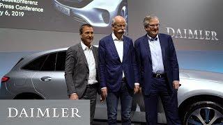 Daimler Jahrespressekonferenz 2019
