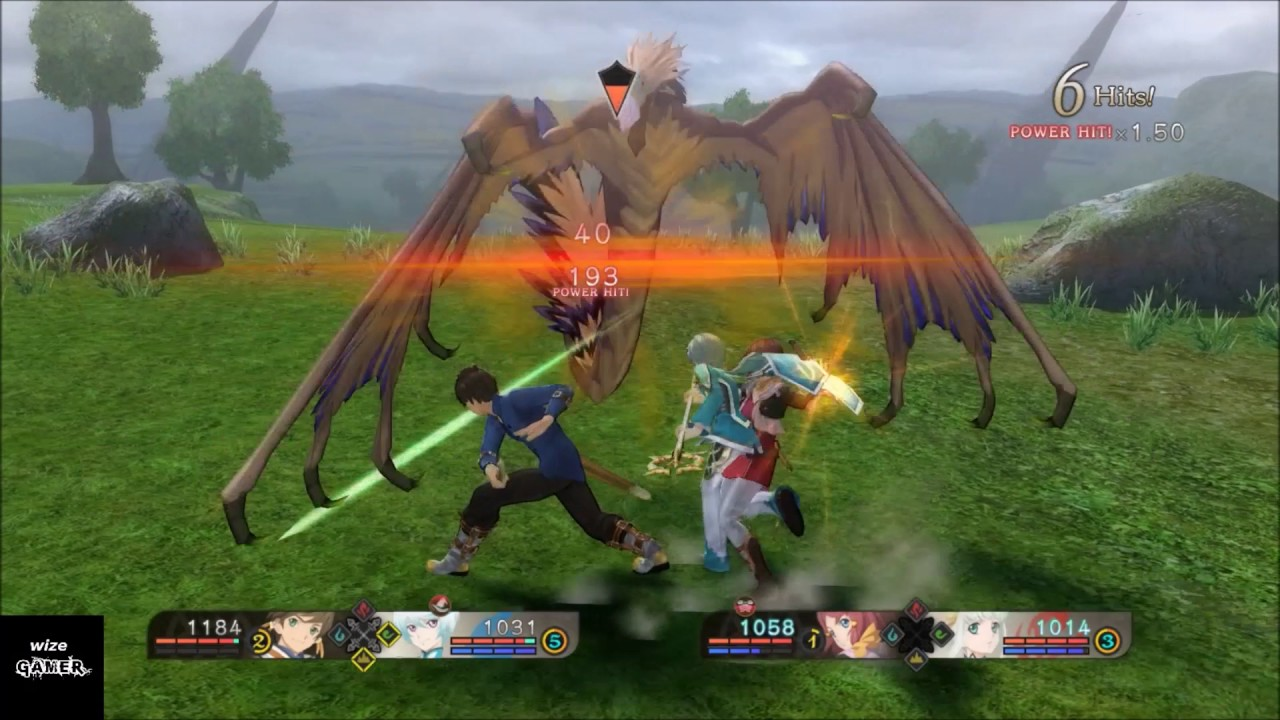 Tales of Zestiria.. Getting started combat basics and using a more simplified battle system.