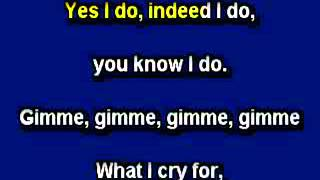 """You Made Me Love You"" Karaoke, in the style of Doris Day"