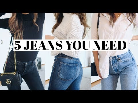 5 Jeans You Need & How to Style Them!  rachspeed