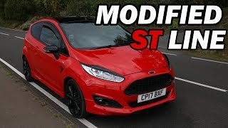 Ford Fiesta  ST Line Red Edition - MODIFIED | Cinematic and Show Off